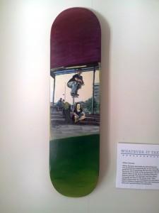 Oliver Dorman's skateboard