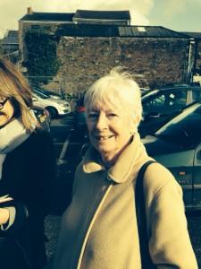 Local historian Valerie Grigg of Camborne