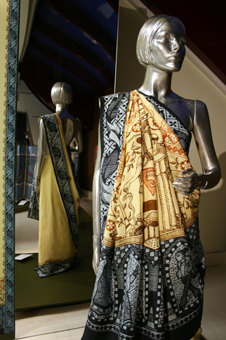 The winning Sari for Harrow by Nilesh Mistry