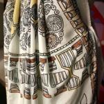 Detail from a Cornish sari by Miranda Hicks