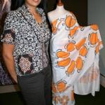 Shilpa Rajan with her Indian Summer sari