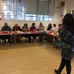 Sewing workshop at the Masbro Centre