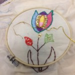Embroidery at the Masbro Centre