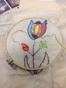 Embroidery at the Masbro Centre