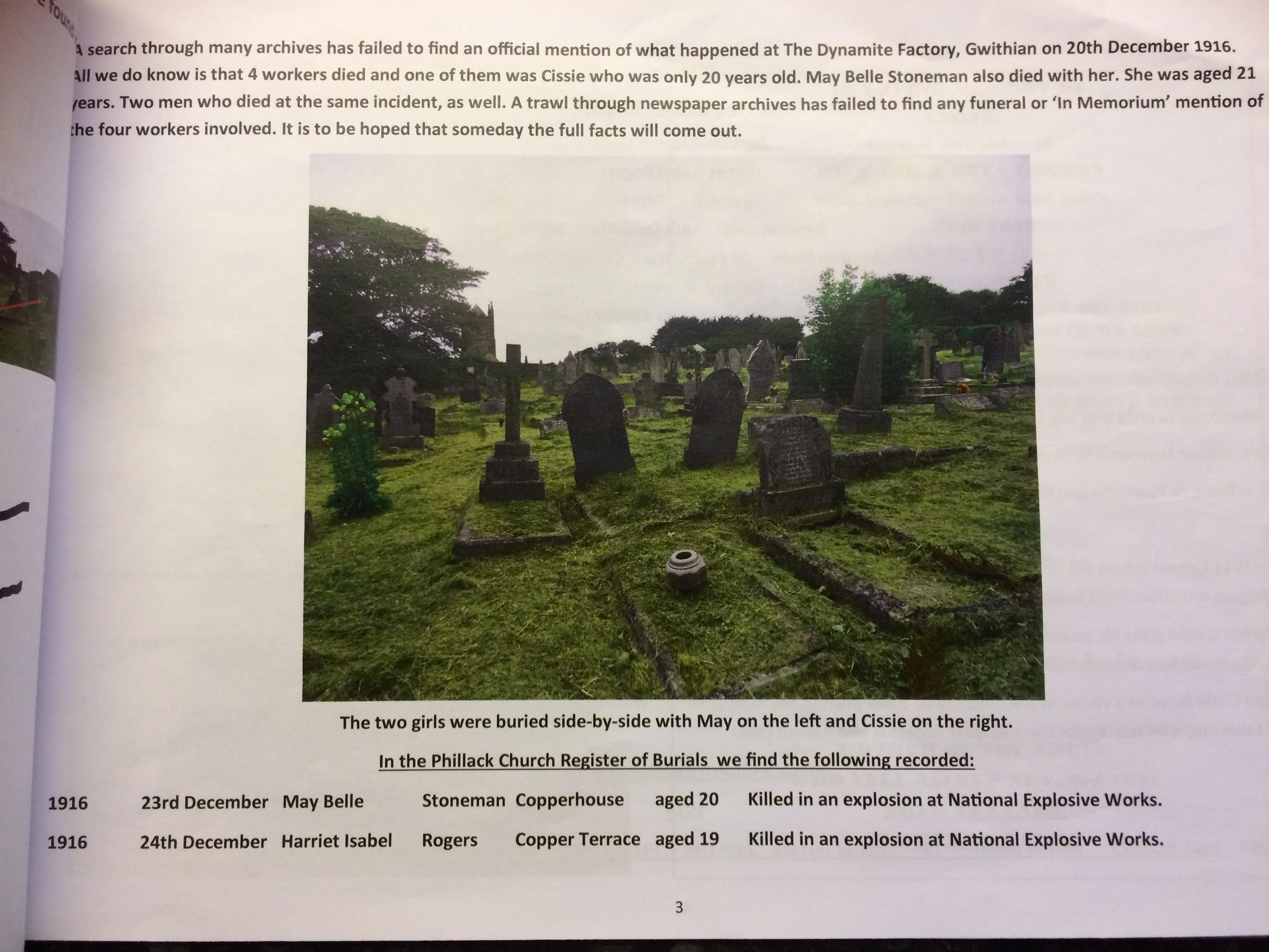 Chris Berry's leaflet