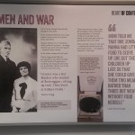 Women and War poster Redruth exhibition