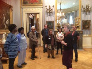 Masbro Centre group visiting the Wallace Collection