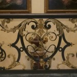 Detail of main staircase at the Wallace Collection