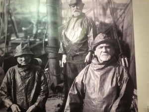 At Newlyn, older men took to sea to take the places of those who had gone to the Front