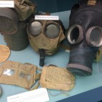 Gas masks from WW1