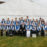 Camborne Youth Band group May 2018