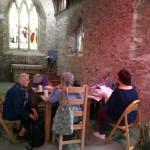 Poetry workshop Phillack Church