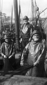Older fishermen in Newlyn